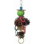 PK2030 Pine Cone Forager Bird Toy