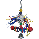 SB548 Vine Ring Tweeter Totter Small Bird Toy