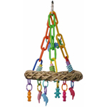PK2005 Jungle Ring Bird Swing Toy