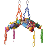 SB1100 Monkey Bars Bird Swing Toy