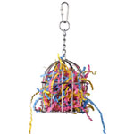 SB476 Mini Stainless Treat Cage Bird Foraging Toy