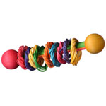 SB536 Vine Ring Rattle Bird Toy