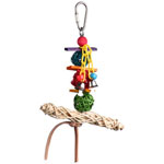 SB549 Vine Twist T-Bar Swing Bird Toy