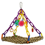 SB747 Mini Flying Trapeze Swing Bird Toy