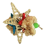 SB928 Vine Star Chew Bird Toy